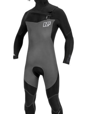 NP Surf Mission 6/5 Hooded Front Zip Wet suit
