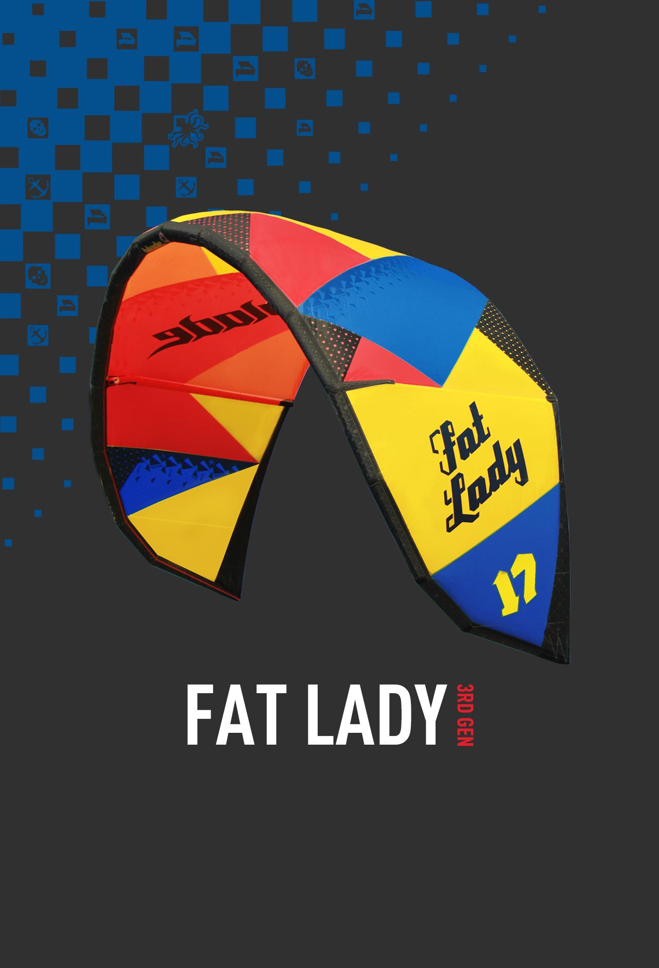 2015 Blade Fat Lady - 3rd generation - 30% off