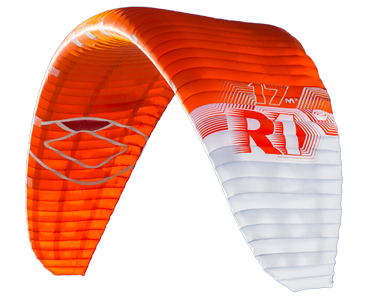 2016 Ozone R1 Race Snow and Foil boarding kite