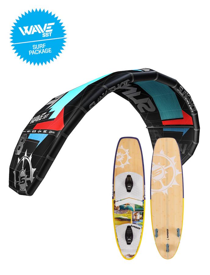 2016 Slingshot 10m or 12m Wave SST / 2015 Screamer Surf board package