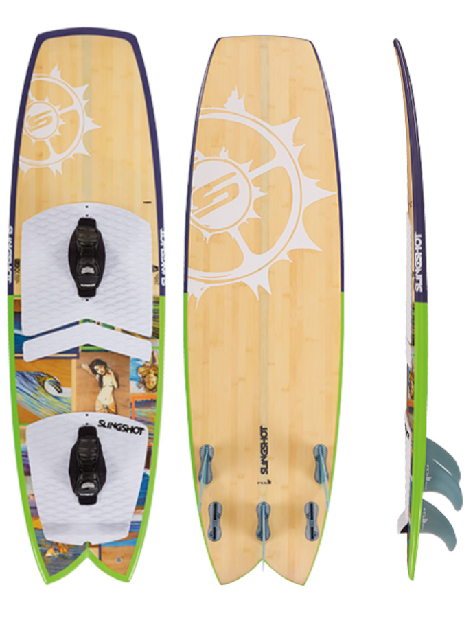 2015 Slingshot Angry Swallow Kite Surfboard