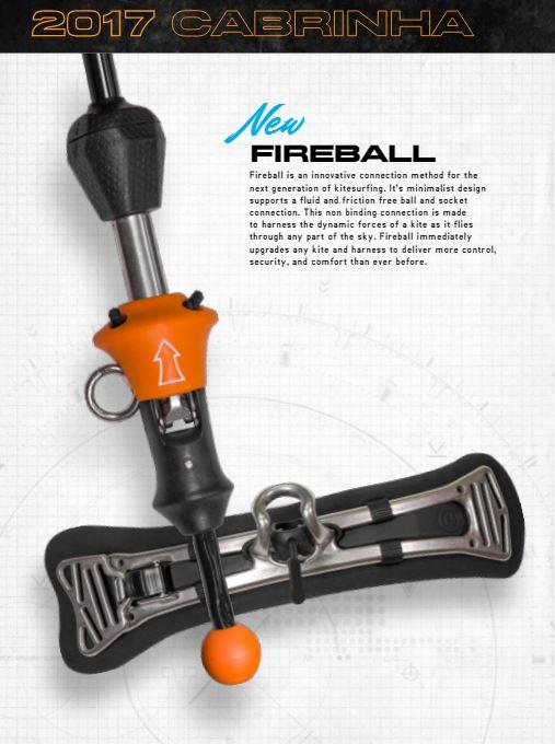 2017 Cabrinha Fireball Spreader bar.