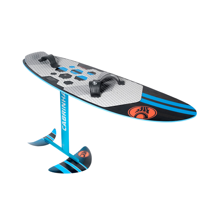 2016 Cabrinha Double Agent Foil board - complete package - DEMO package