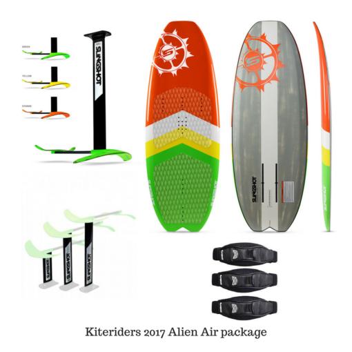 2017 Slingshot Alien Air foil package