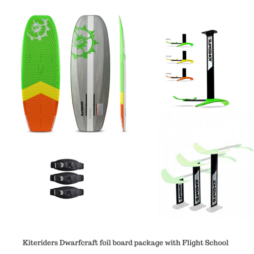 Slingshot-dwarfcraft-foil-package-with-flight-school-hoverglide