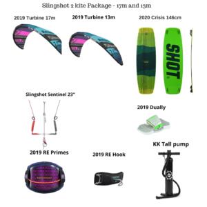 Slingshot-17m-13m-kite-package